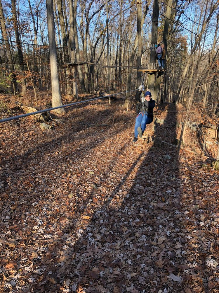 Zip Lining At The Treescape Aerial Adventures Course At Mountain Creek In Vernon Nj Makes For A Fun Family Day Read Mom H Outdoors Adventure Ziplining Resort