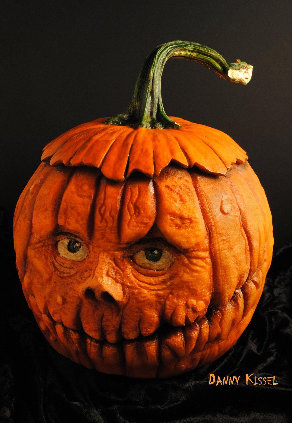 Top d pumpkin carvings in the world pinterest