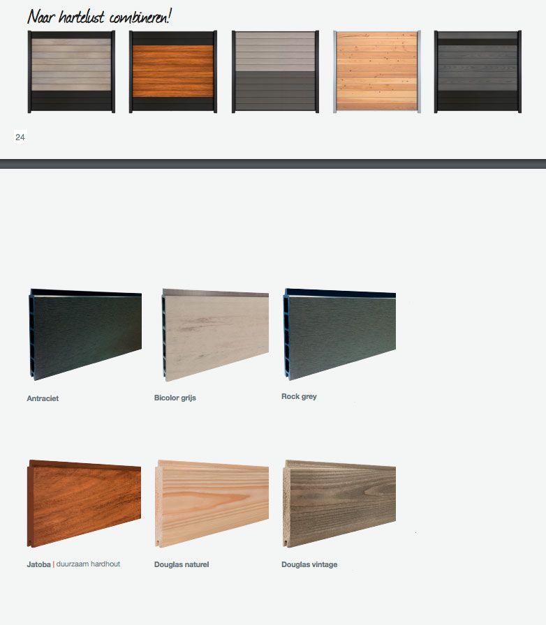Een dichte schutting maken van stapelrabat WPC en/of hout, nu te koop bij online houthandel Gadero.