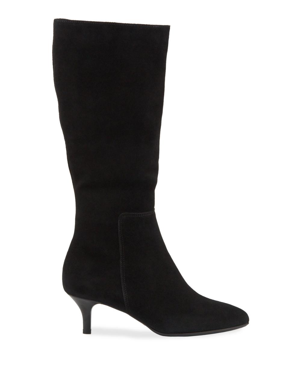 La Canadienne Drake Waterproof Kitten Heel Knee Boots In 2020 Kitten Heel Boots High Heel Boots Ankle Boots