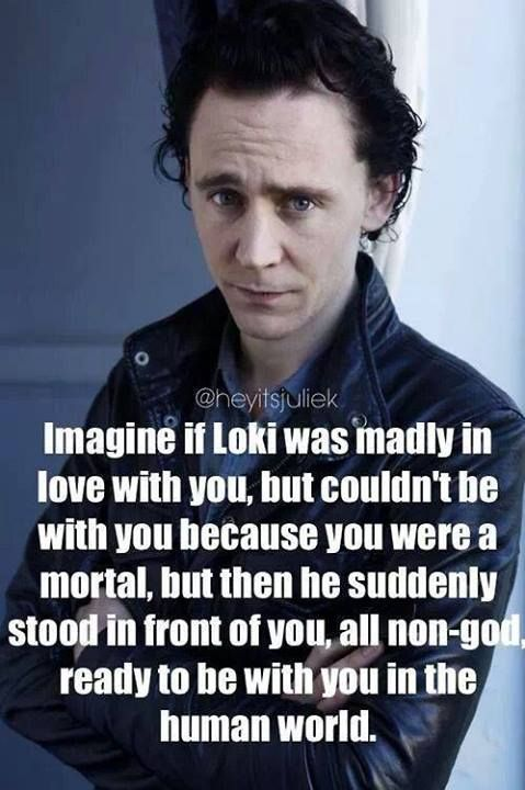 So Tom would be standing in front of me   lol | TOM HIDDLESTON
