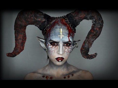 maquillaje demonio - Maquillaje Demonio