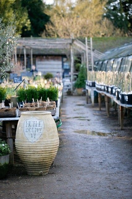 Petersham Nurseries, Richmond Surrey UK Garden cafe