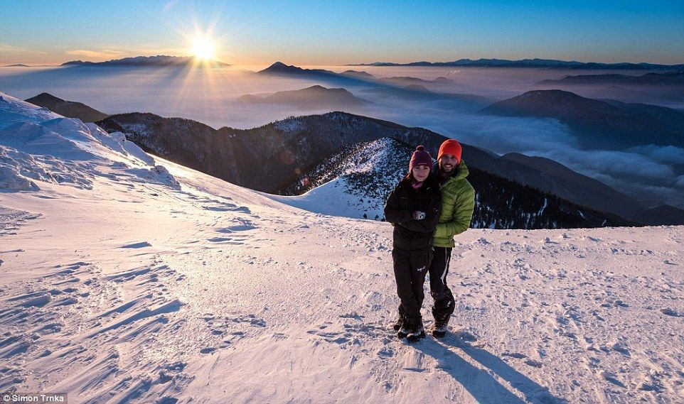 The 27-year-old said spending time in the spectacular mountains gives him a free mind with...