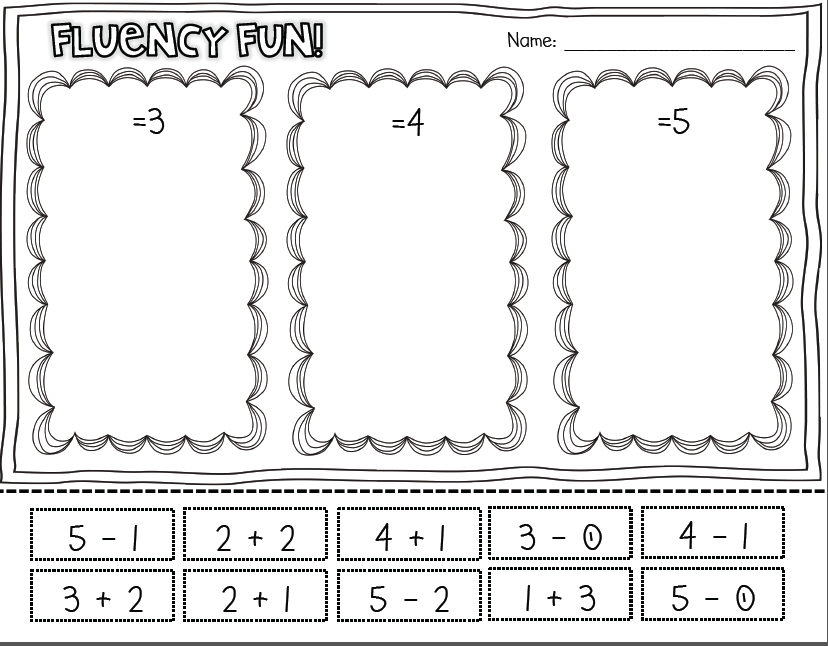 Just the Facts {Games and Acitivites for Common Core Fact Fluency to ...