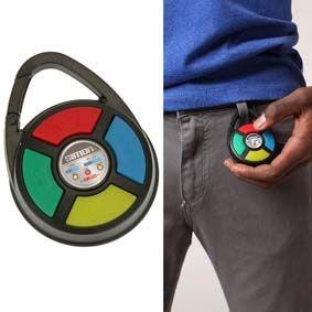 Toh Querendo: Chaveiro Mini Brinquedo Genius da Estrela com som e luz