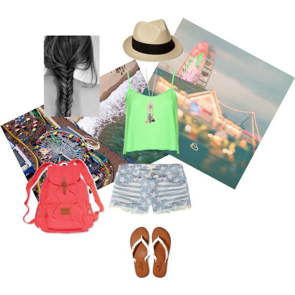 """""""Day at the Pier"""" by mimilou0429 on Polyvore"""