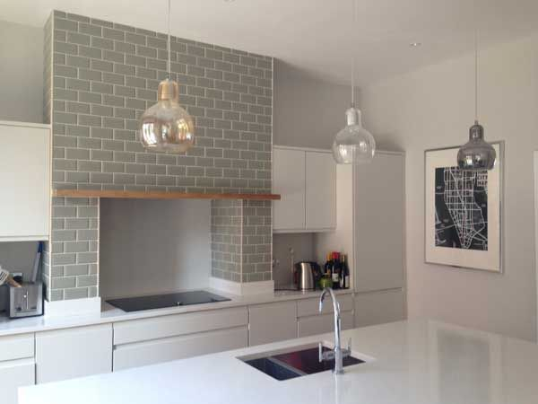 Metro Tile Kitchen metro tile kitchen splashback | ambientes p/ se inspirar
