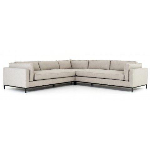 Fritzie Corner Sectional, Natural   Unique furniture ...