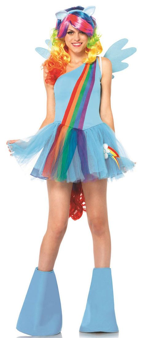 9ea91f951 Rainbow Dash Adult Costume - My Little Pony Costumes