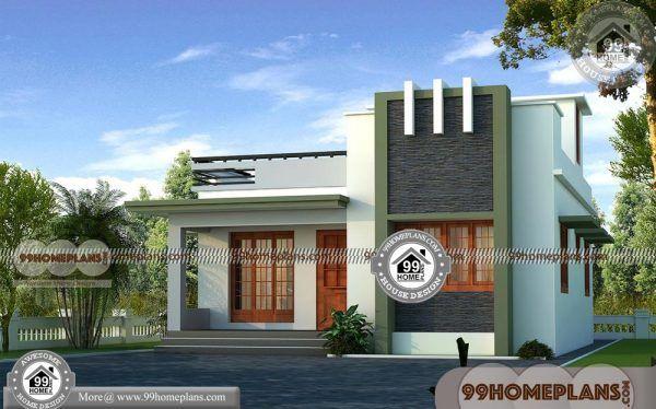 Single floor house designs in kerala contemporary modern also design  home ideas  collections rh pinterest