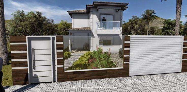 Populares imagem (47) | muros e portões | Pinterest | Portões, Portoes  AB39