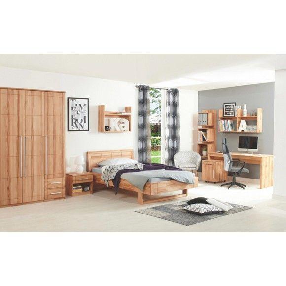 Jugendzimmer aus vollmassiver kernbuche linea natura in - Jugendzimmer massivholz ...