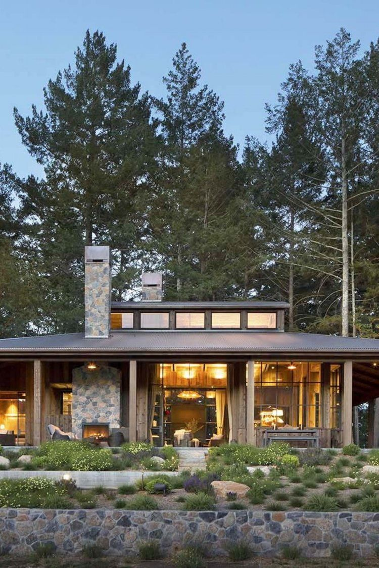 Farmhouse Style Cabin In Napa Valley Farmhouse style house