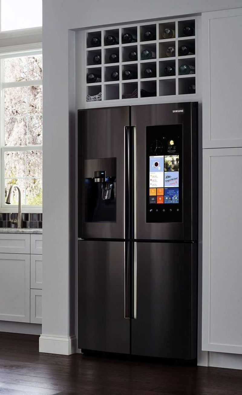 Top 5 Brilliant Small Kitchen Design Ideas Kitchen Design Small Samsung Fridge Kitchen Fridges