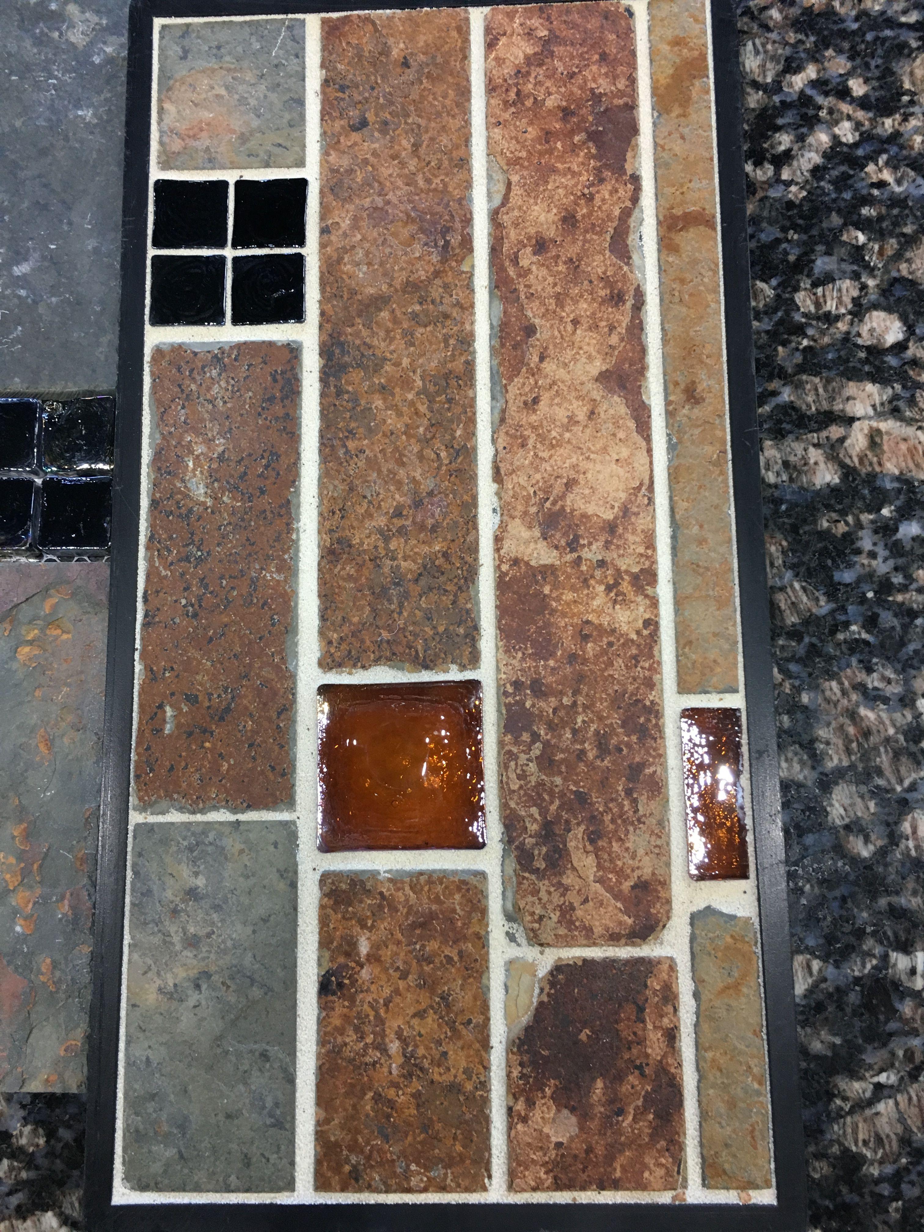 Backsplash Jeffrey Court Fire Ice Beaver Tile Stone