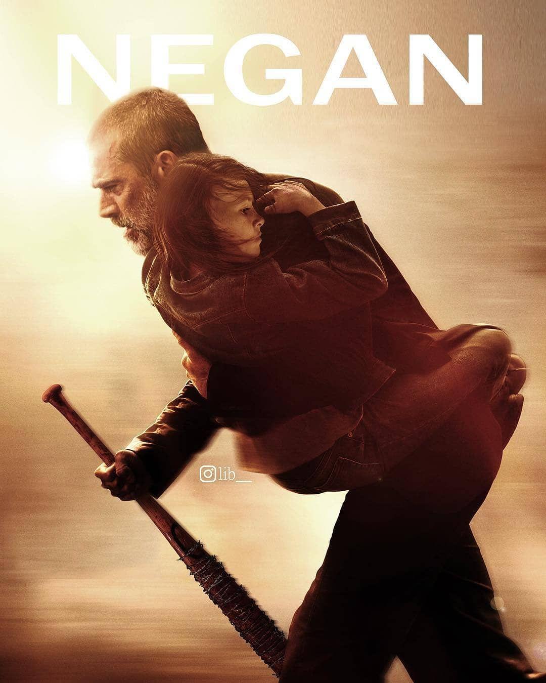 The Walking Dead On Instagram Negan And Judith Fan Art