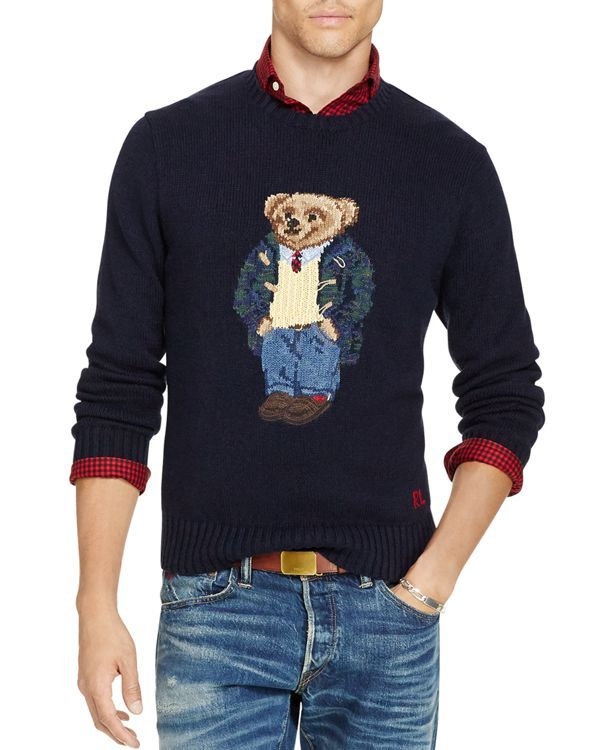 96857f2a Polo Ralph Lauren Bear Sweater | Products | Men sweater ...