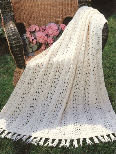 Knitting - Afghan & Throw Patterns - Quick & Easy Patterns ...
