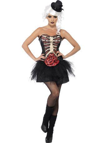 exposed guts halloween corset  burlesque halloween