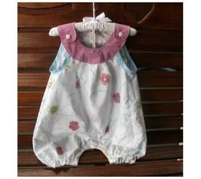 baby romper pattern free - Google Search | Sewing | Pinterest