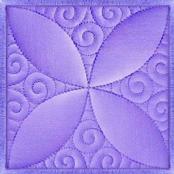 Machine Embroidery Design Quilt Block Sewing And Quilting