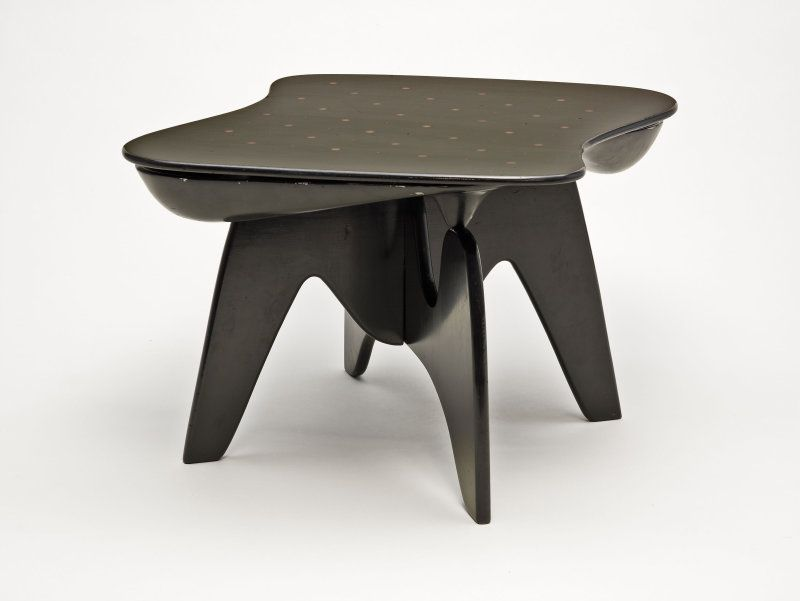 Chess Table, Designed Made C. 1949 Isamu Noguchi, American, Made By Herman  Miller Furniture Company