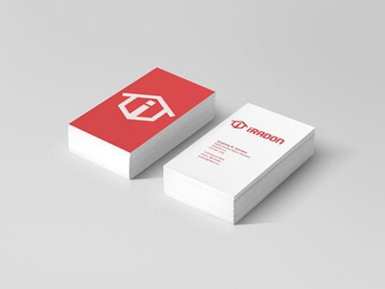 Iradon Business Card Business Cards The Design Inspiration Business Card Design Beautiful Business Card Google Business Card