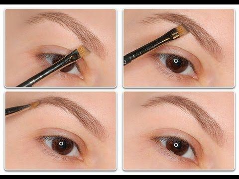 how to do eyebrow makeup mac