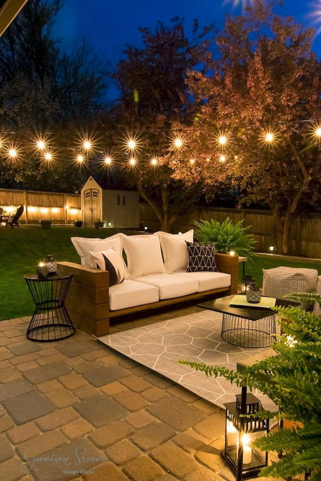 Outdoor Patio Lighting Ideas That Create A Good Vibe Outdoor Patio Decor Backyard Seating Modern Backyard