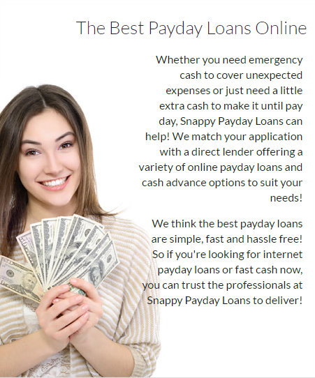 Payday Loans With Moneygram Option