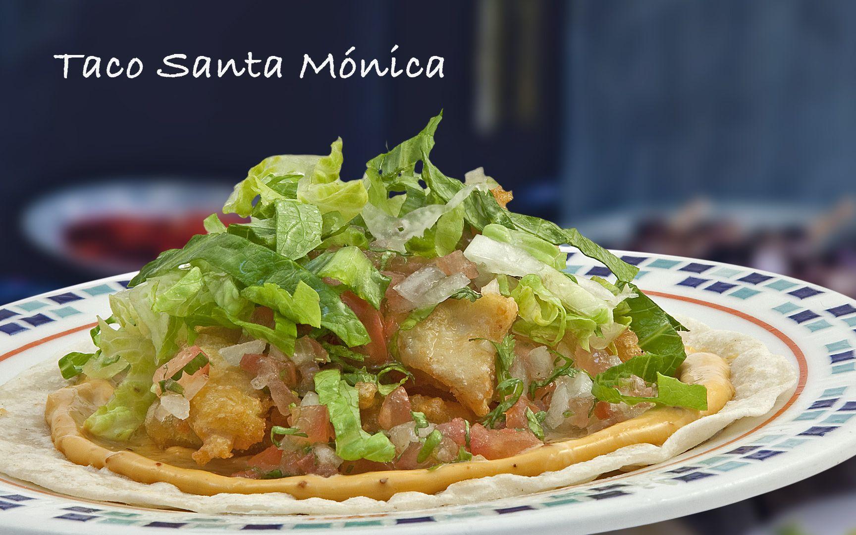 Taco Santa Mónica #food #comida #alimentos #fishers | Sugerencias ...