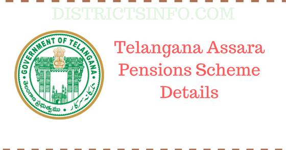 telangana assara pensions scheme details,Telangana giving pensions to Old age people, Widows People Weavers,Toddy People,Disabled People etc..