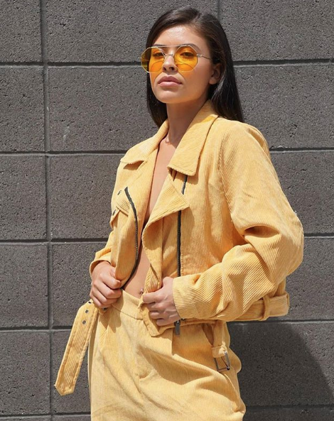 4dd59ab93c Look a chic dream in our gorgey Cassie Mustard Corduroy Cropped Trousers.  Featuring a soft