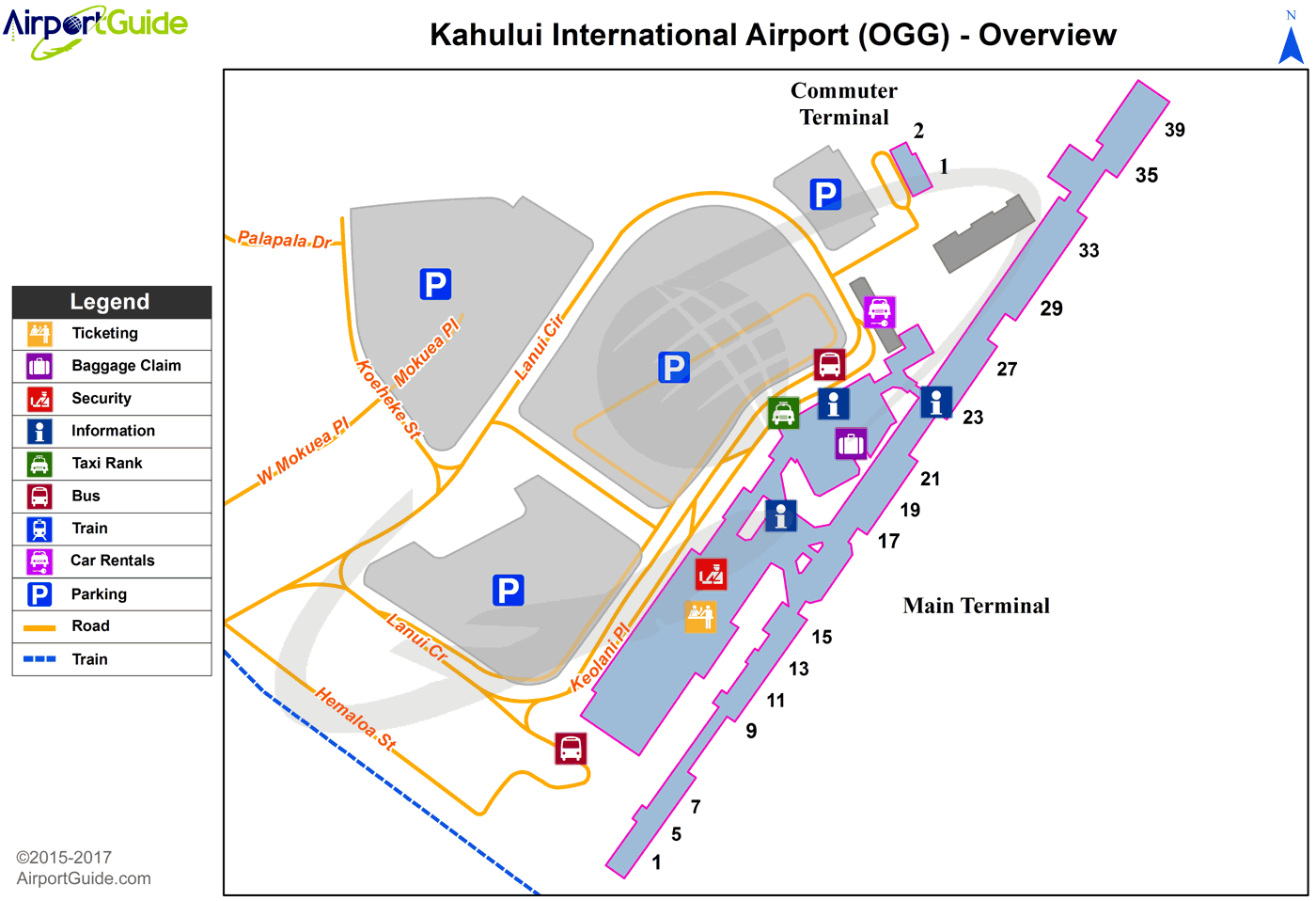 Kahului - Kahului (OGG) Airport Terminal Map - Overview ... on map of washington dulles airport terminals, map of houston hobby airport terminals, map of philadelphia airport terminals, map of las vegas airport terminals, map of fort lauderdale airport terminals, map of chicago airport terminals, map of dallas fort worth airport terminals, map of denver airport terminals, map of seattle airport terminals, map of san jose airport terminals, map of miami airport terminals, map of orlando airport terminals, map of oakland airport terminals, map of paris airport terminals, map of phoenix airport terminals, map of washington dc airport terminals, map of toronto airport terminals, map of salt lake city airport terminals, map of honolulu airport terminals, map of sacramento airport terminals,