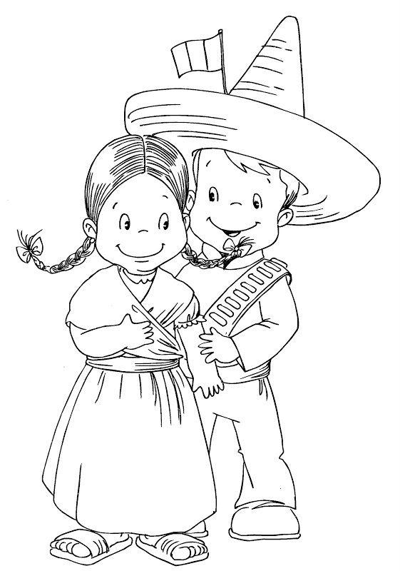 Pinto Dibujos: Revolución mexicana – Adelita y revolucionario para ...