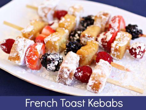 Toast Kebabs, Toast Kabob, Recipe, Parties, French Toast, Breakfast ...