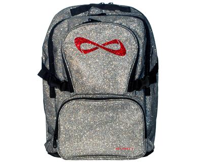 sparkle infinity cheer stuff nfinity backpack blue backpacks gb