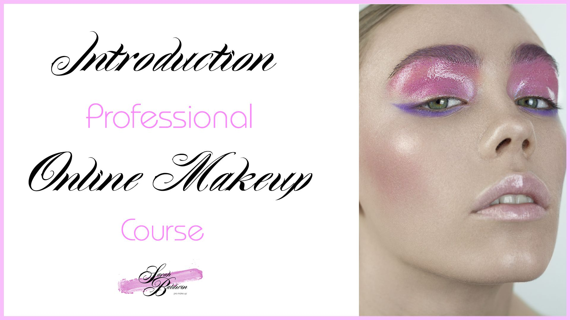 A nice short introduction to my popular online makeup