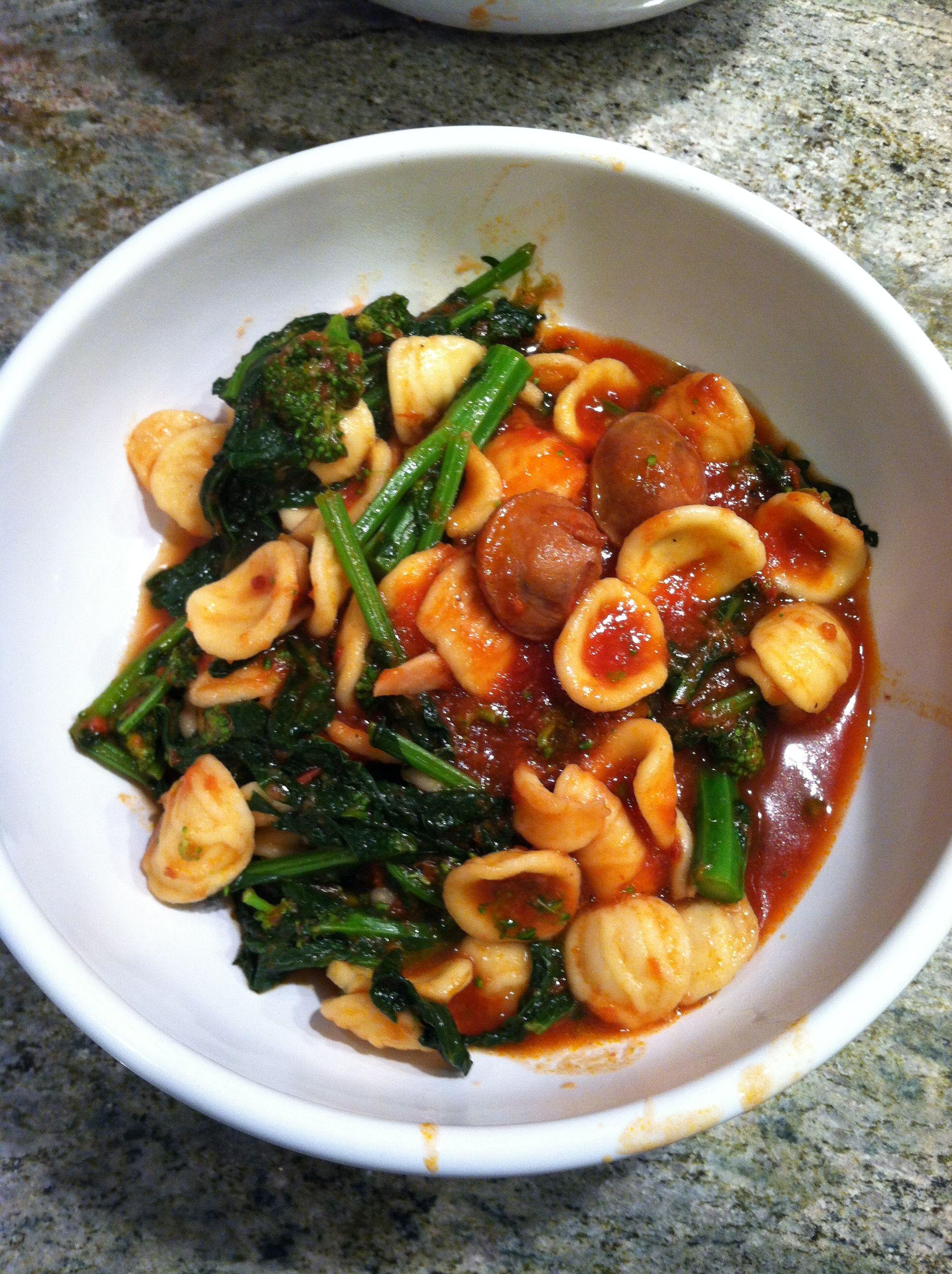 Ina Garten Broccoli ina garten's recipe for sausage, broccoli rabe, and orecchiette in
