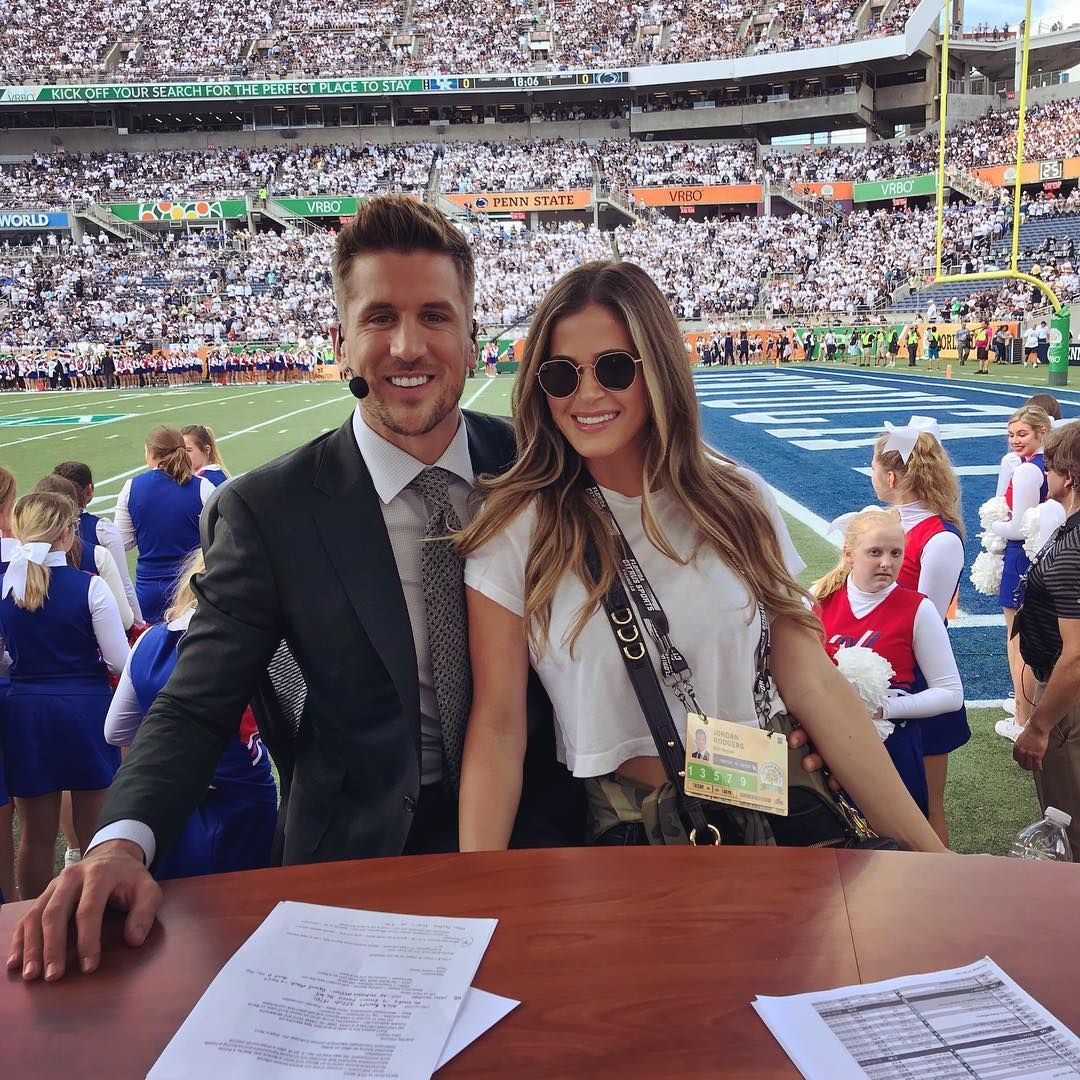 "Jordan Rodgers on Instagram ""Bring your fiancée to work"