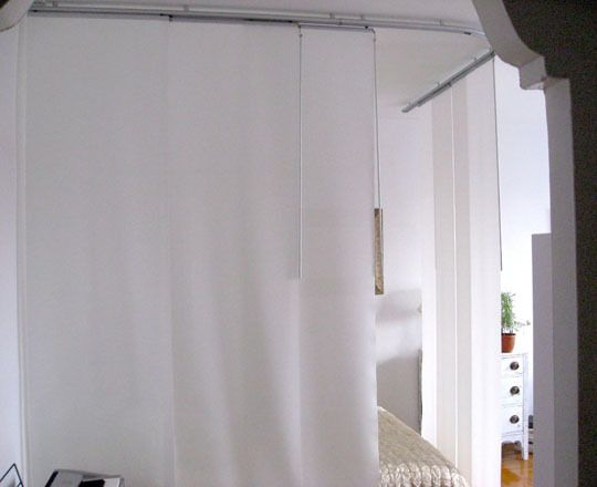 Before  After Create a Bedroom in a Studio Apartment