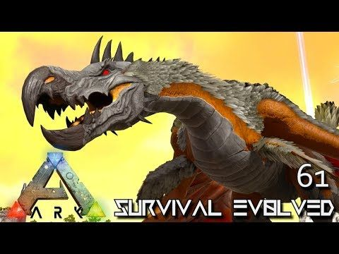 Nice ARK: SURVIVAL EVOLVED   DODO WYVERN U0026 ALPHA ICE WYVERN E61 !