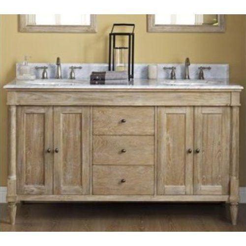 "F142V6021Dft6122Dwcfs100Wh Rustic Chic Over 45"" Bathroom Vanity Gorgeous Shop Bathroom Vanities Inspiration"