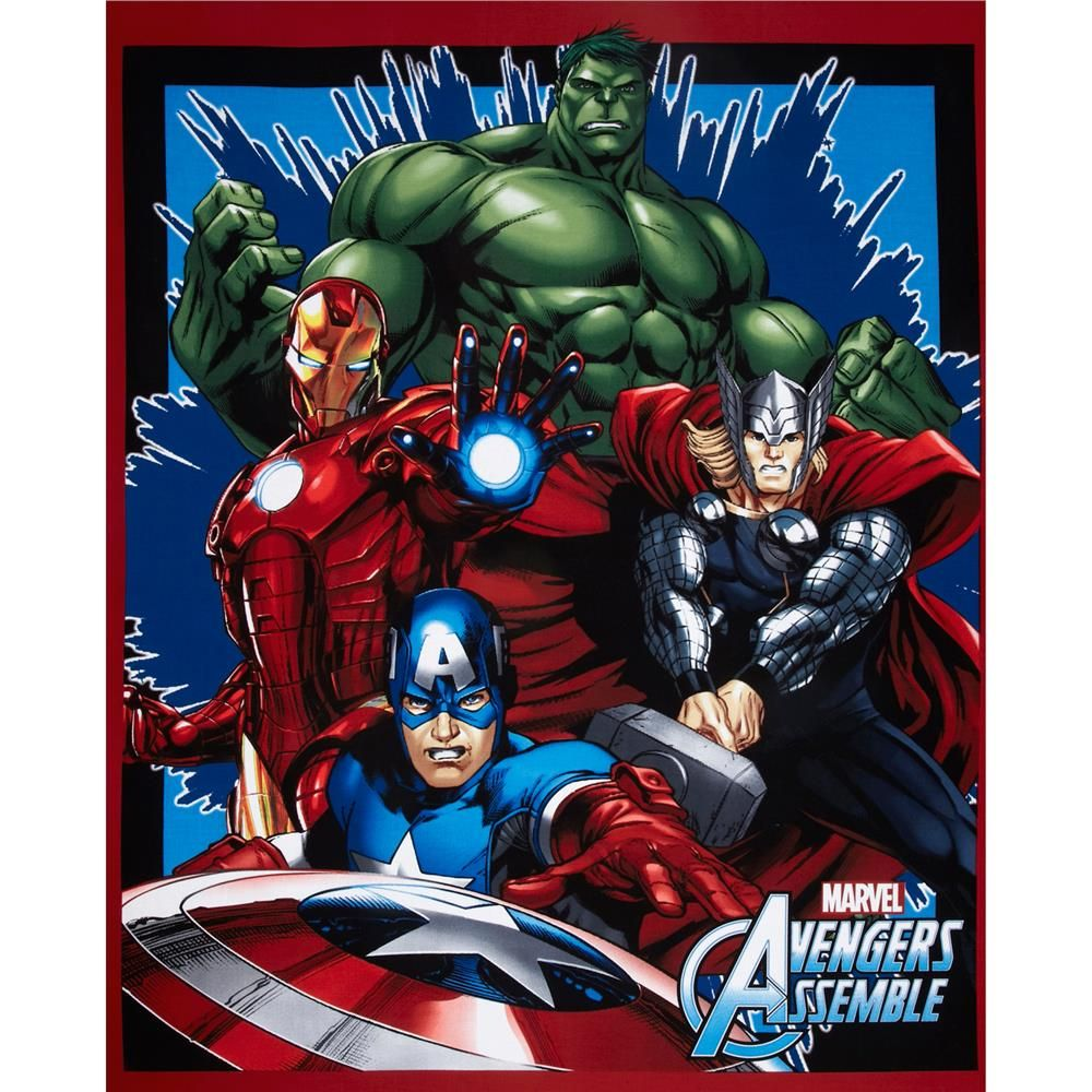 Marvel Comics Panel Licensed Fabric Springs Creative