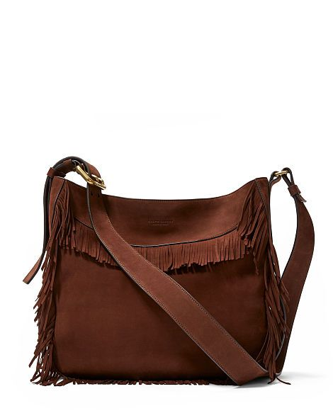 13a16f5f12 Fringe Nubuck Hobo Bag - Ralph Lauren Shop All - RalphLauren.com ...
