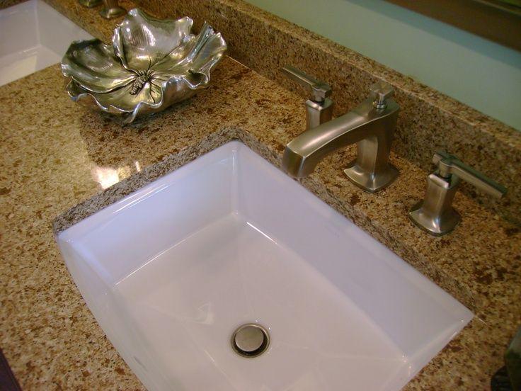 Quartz Countertops Kohler Archer Undermount Sink And Archer Faucet Custom Vanity Espresso Stain Bathroom Redo Custom Vanity Undermount Sink