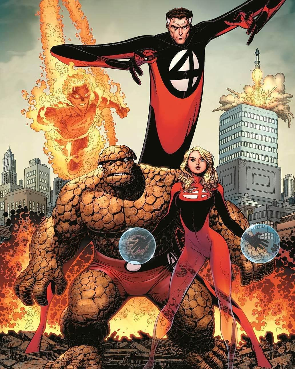 Fantastic Four Fantastic Four Comics Marvel Comics Art Fantastic Four Marvel
