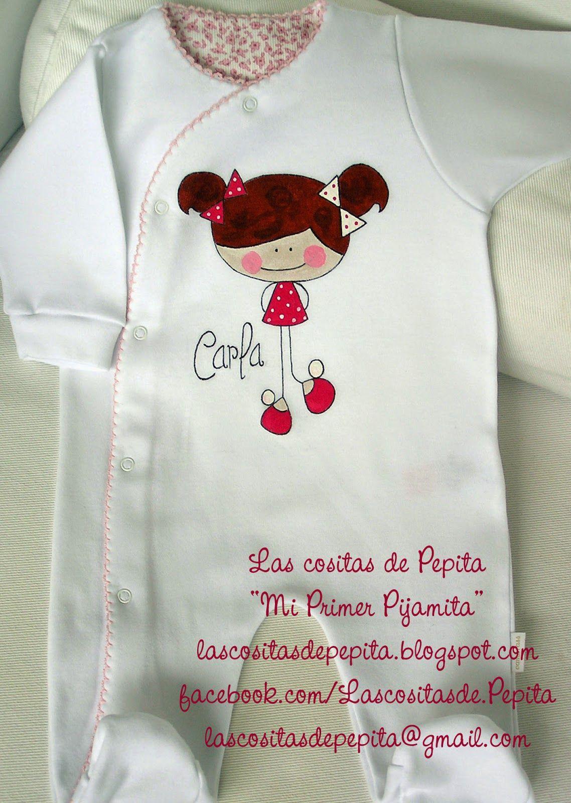 Las cositas de pepita camisetas y bodys pintados a mano - Pintura para camisetas ...