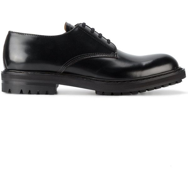 Alexander McQueen classic Derby shoes ( 750) ❤ liked on Polyvore featuring  men s fashion 8fc6b541e64af